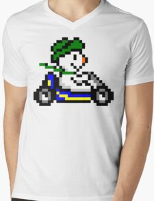 Louis Kart Mens V-Neck T-Shirt