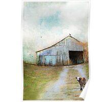 The Artist's Barn Poster