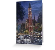 Village Courthouse Greeting Card