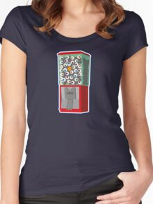 Eye Like Gumballs Women's Fitted Scoop T-Shirt