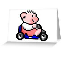 Hobbes Kart Greeting Card
