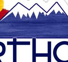 Berthoud Colorado wood mountains Sticker
