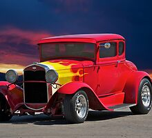 1931 Ford Model A Coupe by DaveKoontz