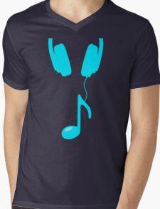 headnote aqua Mens V-Neck T-Shirt