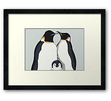 Penguin Hugs Framed Print