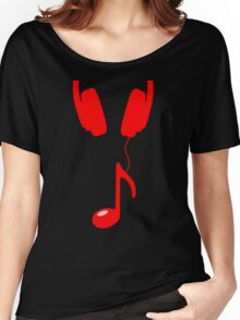 headnote red Women's Relaxed Fit T-Shirt