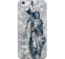 Blue Madonna iPhone Case/Skin