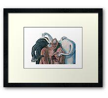 Skunk Ape, Yeti and Sasquatch Framed Print