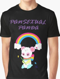 Cute Pansexual PANda shirts and hoodies - pan pride Graphic T-Shirt