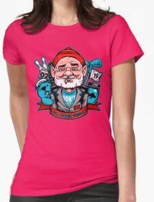 Bill Effing Murray Womens Fitted T-Shirt