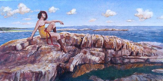 Saltstein by Roman Scott