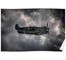 Spitfire Pair Poster