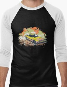 car Men's Baseball ¾ T-Shirt