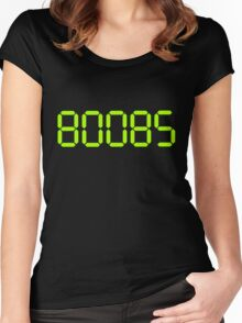boobs green Women's Fitted Scoop T-Shirt