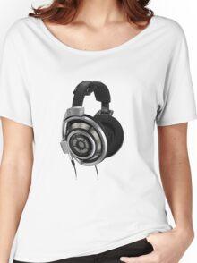 headphones Women's Relaxed Fit T-Shirt