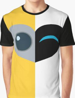 Wall E Love Story Graphic T-Shirt