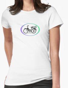 Mamachari - Everyone's favorite cruisin' bike. Womens Fitted T-Shirt