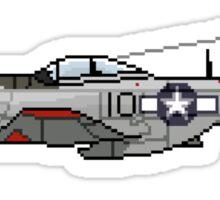 Pixel Mustang P-51D Sticker