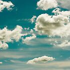 Fluffy Clouds by April Koehler