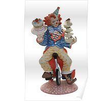 Clown cycling Poster