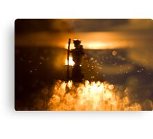 Night hike Metal Print