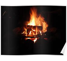 fire pit Poster