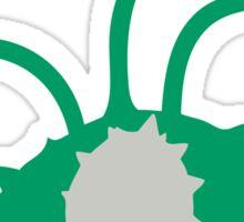 PKMN Silhouette - Ferroseed Family Sticker