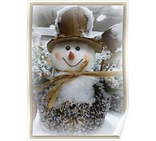 Frosty, the Snowman Poster