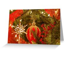 Beautiful Hidden Christmas Ornament Greeting Card
