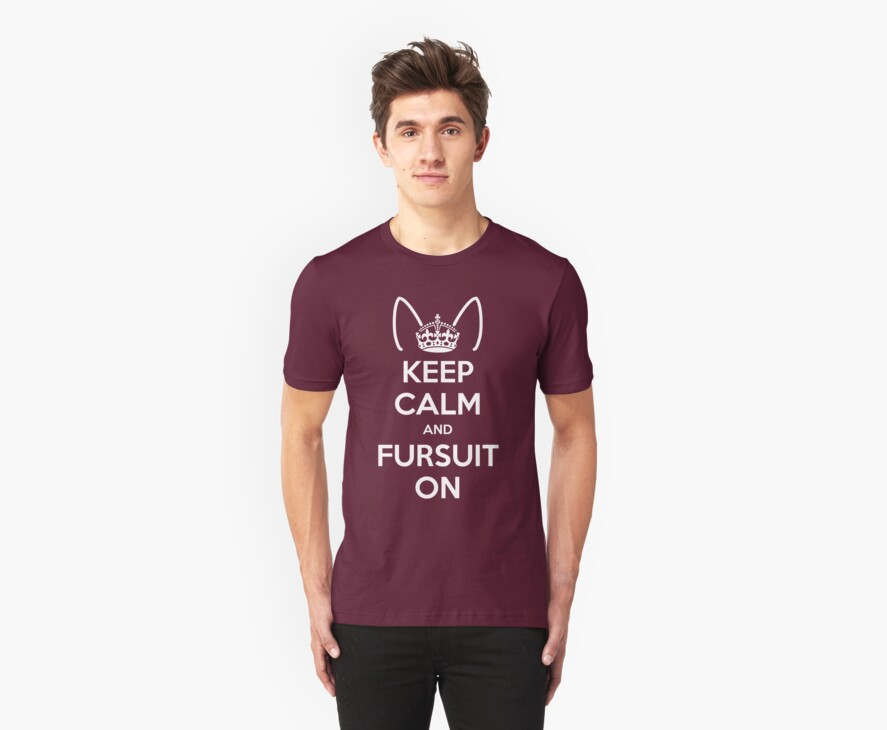Keep Calm and Fursuit On by kynewuff