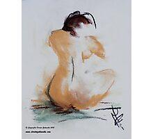 Naked I Photographic Print