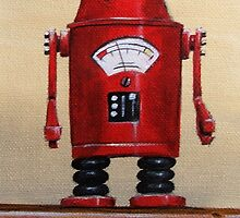 Retro Robot #2 by Lee Twigger