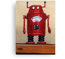 Retro Robot #2 Canvas Print