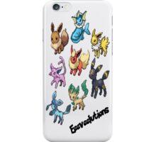 Eeeveelutions iPhone Case/Skin