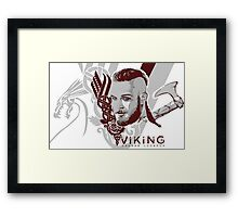Vikings Ragnar  Framed Print