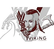 Vikings Ragnar  Photographic Print