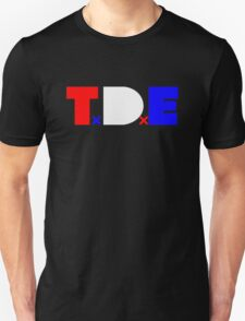 TDE TOP DAWG RED WHITE BLUE USA FOURTH OF JULY T-Shirt