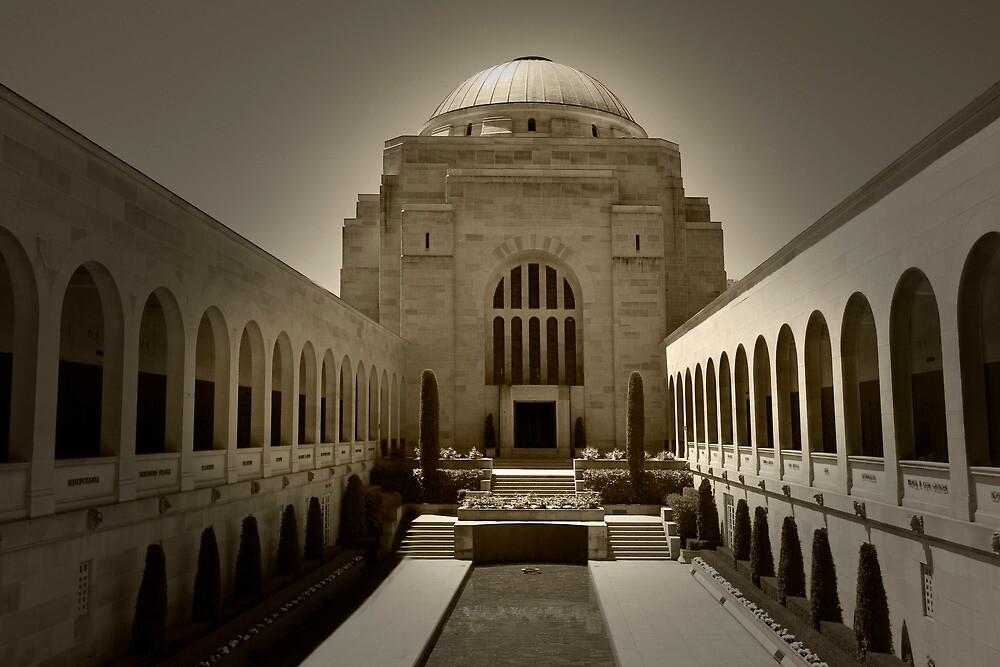 Australian War Memoria by MissFrosty