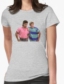 Slater and Zack Womens Fitted T-Shirt