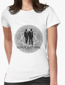 Supernatural Files Womens Fitted T-Shirt