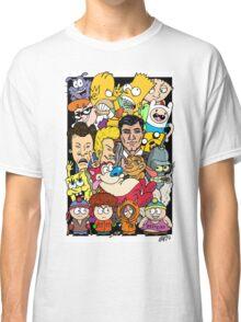 Cartoons Color Classic T-Shirt