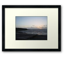 Sunset in West Clare Framed Print