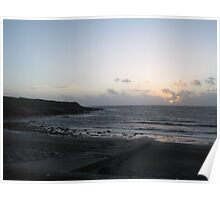 Sunset in West Clare Poster