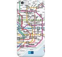 Tokyo Metro Map iPhone Case/Skin