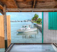 Through The Window | iPad Case by Jeremy Lavender Photography