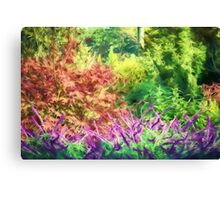 Glorious Garden   (GO) Canvas Print