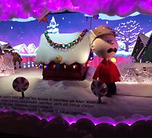 Holiday Windows, Macy's New York, 2015, Herald Square, New York City by lenspiro