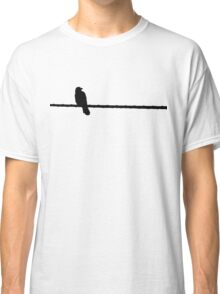 Bird on a Wire Classic T-Shirt