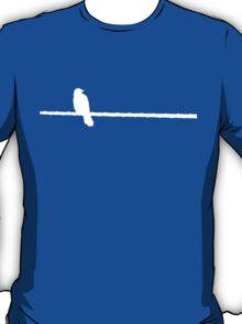 Bird on a Wire (white) T-Shirt