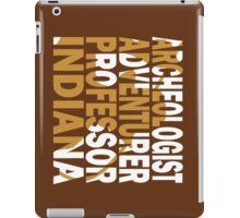 Indy iPad Case/Skin